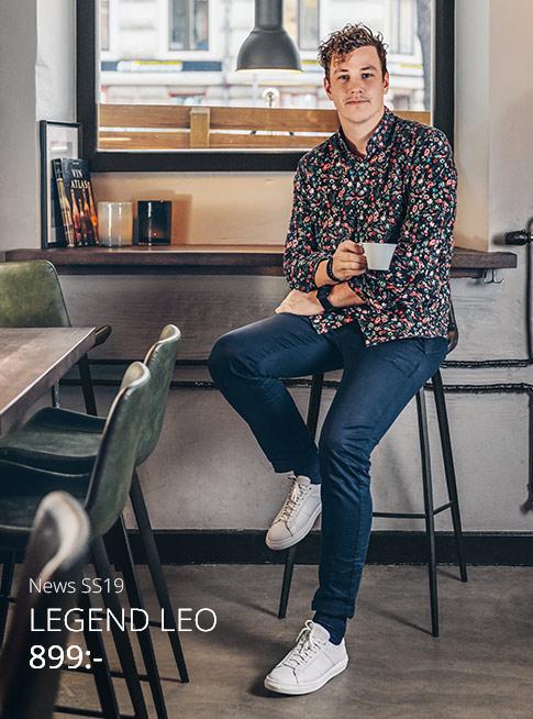 Kocka som en kung eller håll stilen i vardagen med skinnsneakersen LEO från  Legend! 396a5633178a7