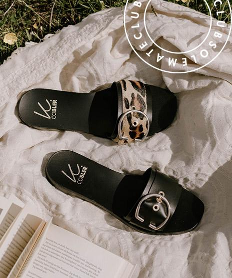 Shoppa snygga och bekväma sandaler i butik och online hos Scorett