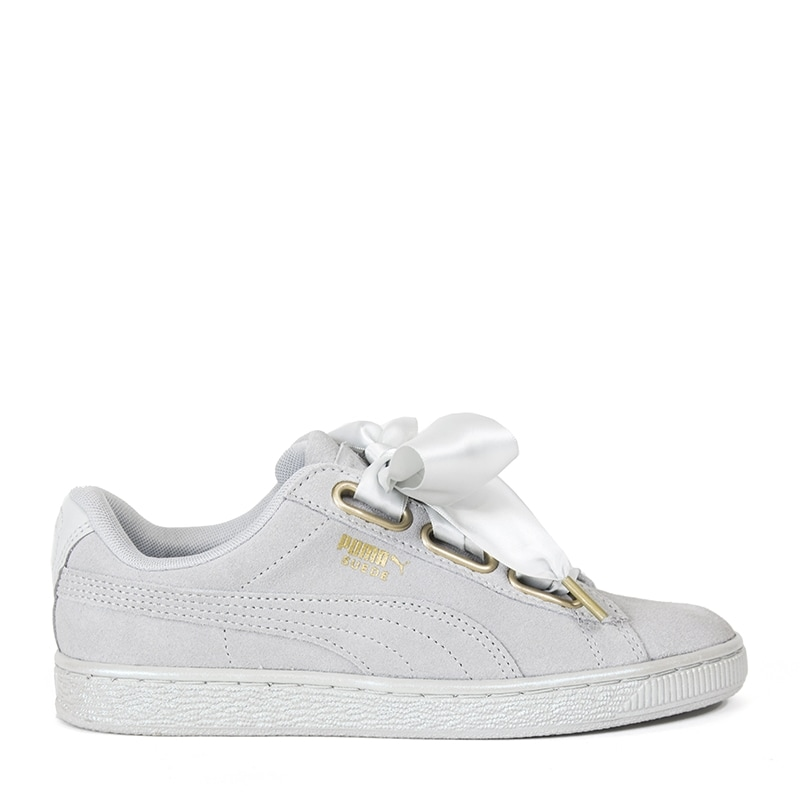 newest collection 59ade b1749 Puma Suede Heart Satin Sneakers