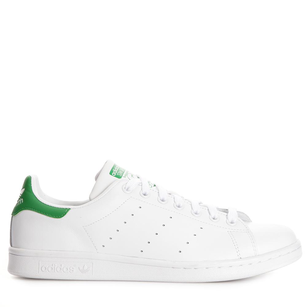 Nya Stilar Adidas Originals Dam Stan Smith Leather Sneakers