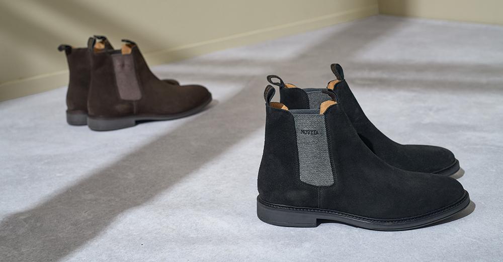 ffa652560d1 Matcha vinterpromenaden med varmfodrade kängor med högt skaft, och  arbetsdagen med nättare boots i snyggt skinn – eller kanske mocka.