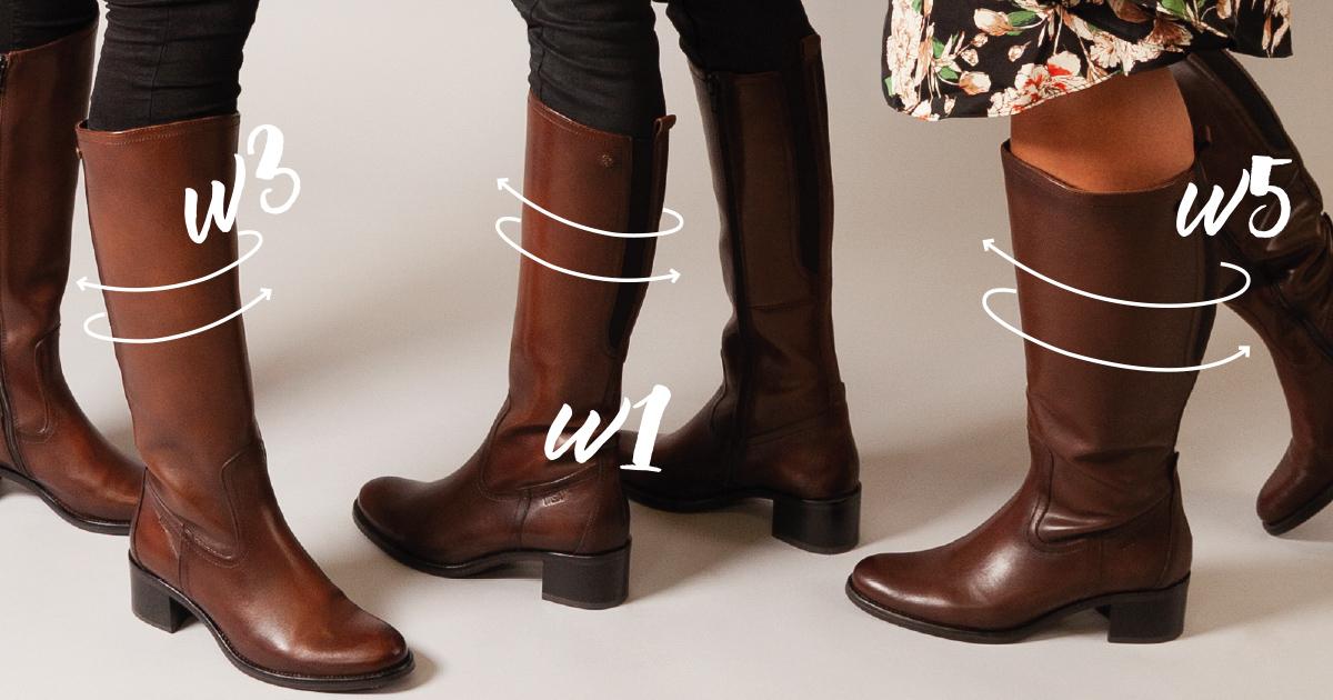 a40e33e186c Har du exempelvis storlek 37 i skor och ett vadmått på 39 cm så är  stövelvidden W4 – Hitta din perfekta match nedan! ... Läs mer Dölj