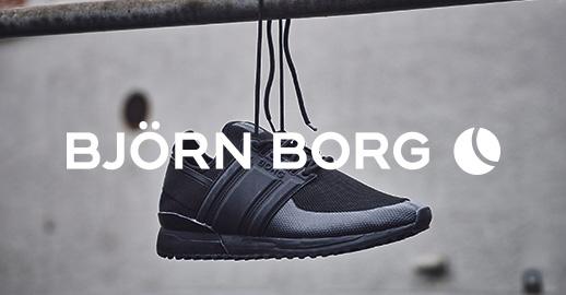 4cdbd6c64c4 Sportiga sneakers, sköna tygskor och slitstarka boots: grundat av  tennislegendaren Björn Borg utlovar märket hög kvalitet och design som  vågar bryta spelets ...